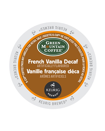 kcups green mountain french vaniall decaf