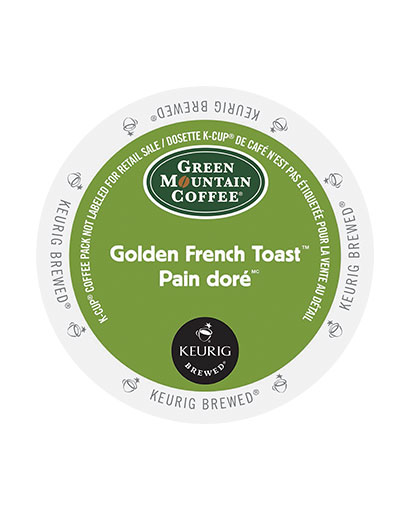 kcups green mountain golden french toast