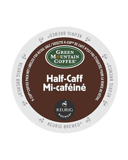 kcups green mountain halfcaff