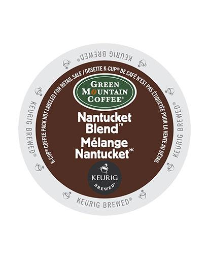 kcups green mountain nan tucket blend
