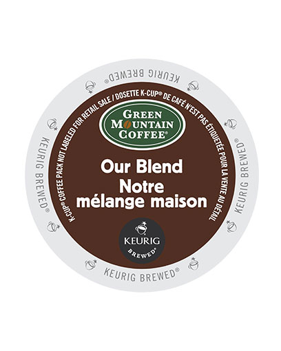 kcups green mountain our blend