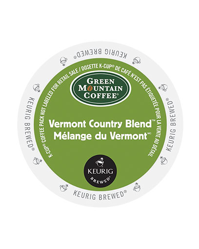 kcups green mountain vermont country blend