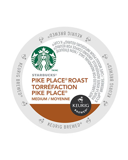 kcups starbucks pike placeroast