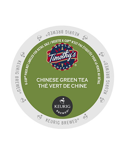 kcups timothys chinese green tea