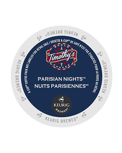 kcups timothys parisian nights