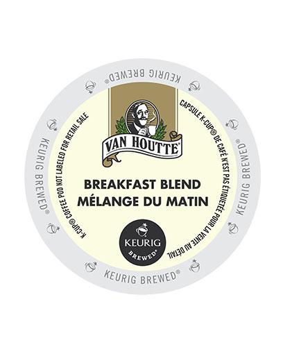 kcups vanhoutte breakfast blend