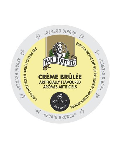 kcups vanhoutte creme brulee