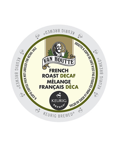 kcups vanhoutte french roast decaf