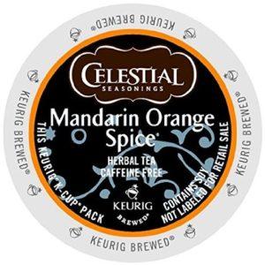 K-CUP CELESTIAL SEASONINGS MANDARIN ORANGE SPICE TEA 24's