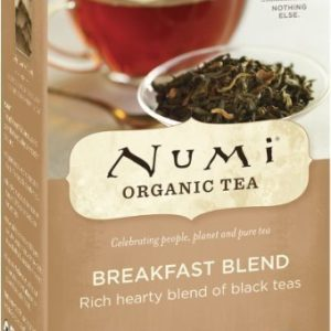 NUMI ORGANIC TEA BAGS BREAKFAST BLEND 18's