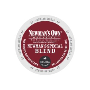 K-CUP NEWMAN'S OWN DECAF SPECIAL BLEND 12's