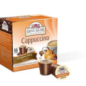 K-CUP GROVE SQUARE PUMPKIN SPICE CAPPUCCINO 24's