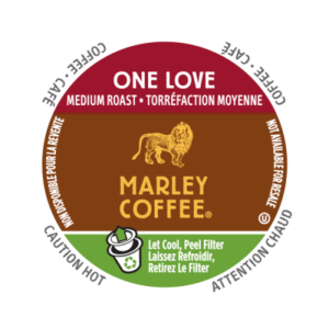 K-CUP MARLEY COFFEE ONE LOVE 24's