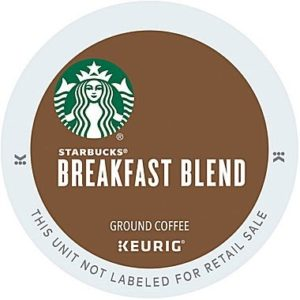 K-CUP STARBUCKS BREAKFAST BLEND 24's