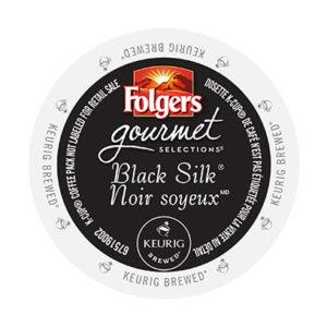 kcups folgers gourmet selections black silk