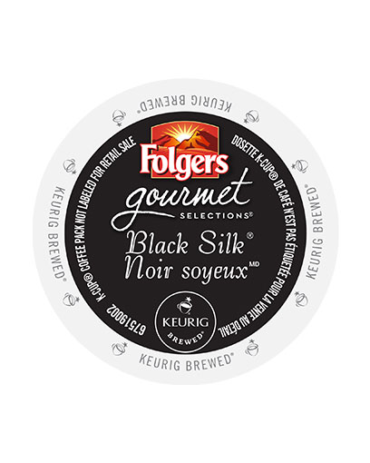 kcups folgers gourmet selections black silk