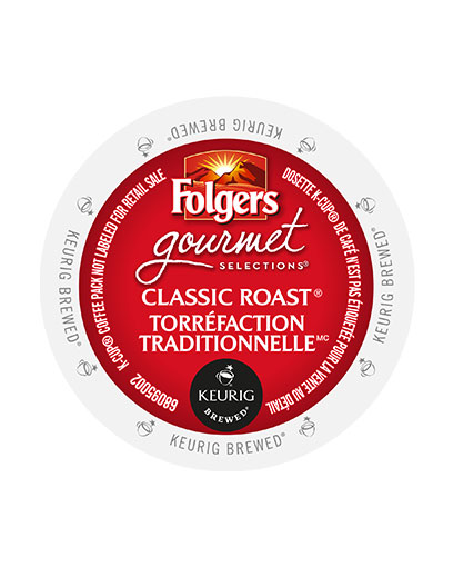 kcups folgers gourmet selections classic roast