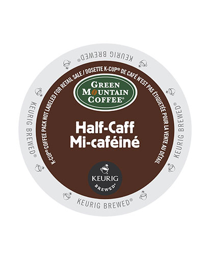 kcups green mountain halfcaff