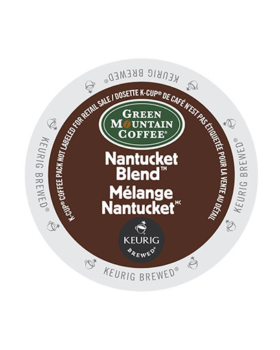 kcups green mountain nan tucket blend