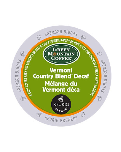 kcups green mountain vermont country blend decaf