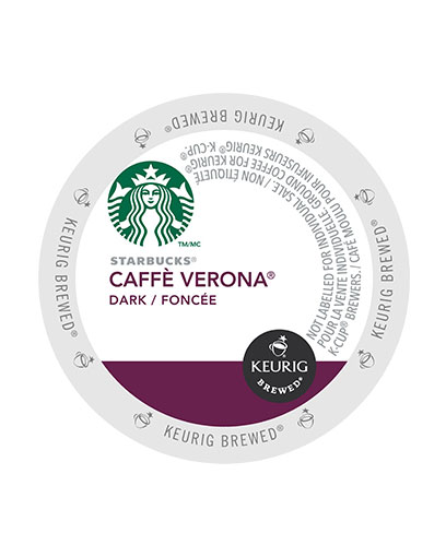 kcups starbucks cafe verona dark