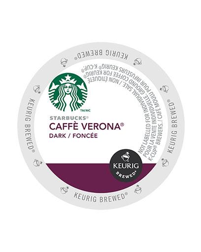 kcups starbucks cafe verona dark