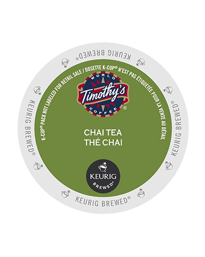 kcups timothys chaitea blend