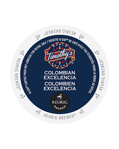 kcups timothys colombia nexcelencia