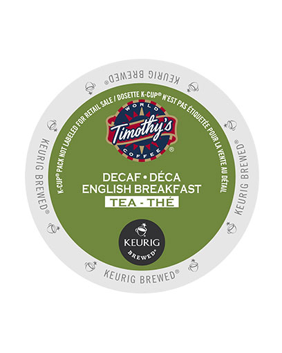 kcups timothys decaf english breakfast