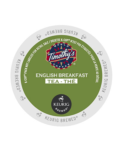 kcups timothys english breakfasttea
