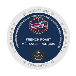 kcups timothys french roast