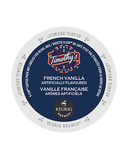kcups timothys french vanilla