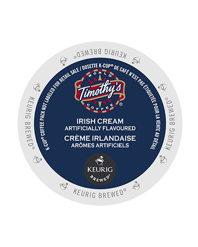 kcups timothys irish cream