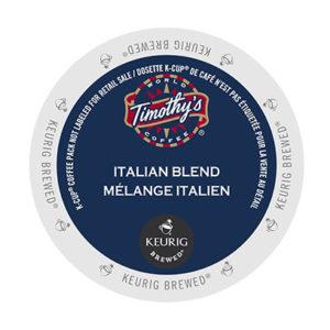 kcups timothys italian blend