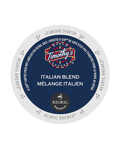 kcups timothys italian blend