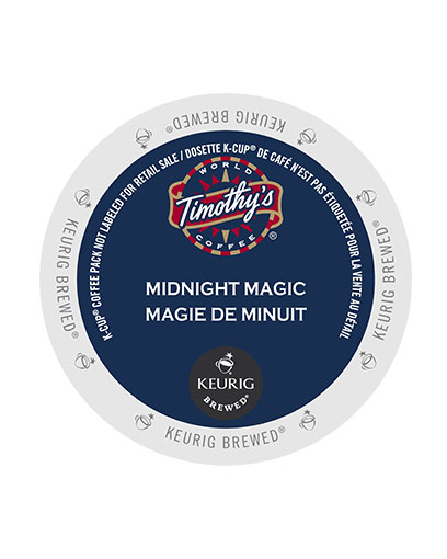 kcups timothys midnight magic