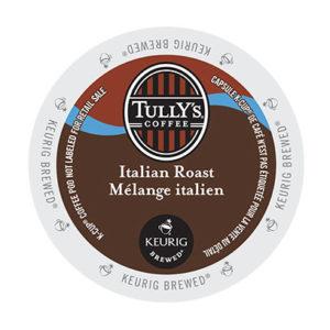 kcups tullys italian roast