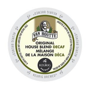 kcups vanhoutte original house blend decaf