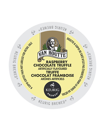 kcups vanhoutte raspberry chocolate truffle