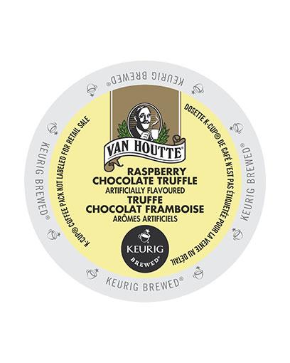 kcups vanhoutte raspberry chocolate truffle
