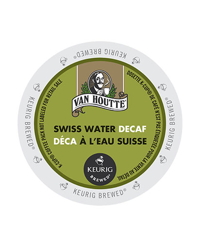 kcups vanhoutte swiss water decaf
