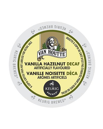 kcups vanhoutte vanilla hazelnut decaf
