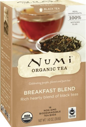 Numi Organic Tea Bags Breakfast Blend 18 S