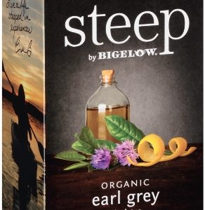 STEEP BY BIGELOW TEA BAGS EARL GREY 20's