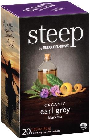 STEEP BY BIGELOW TEA BAGS EARL GREY 20's