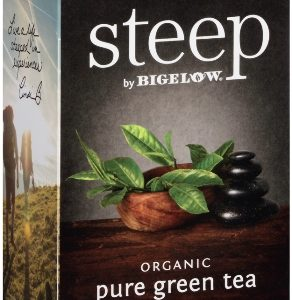 STEEP BY BIGELOW TEA BAGS PURE GREEN 20's