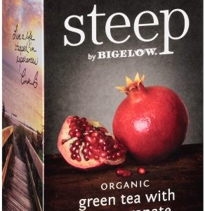 STEEP BY BIGELOW TEA BAGS GREEN POMEGRANATE 20's