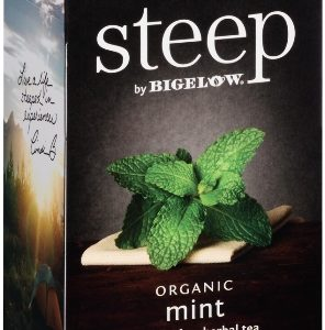 STEEP BY BIGELOW TEA BAGS MINT 20's