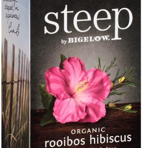 STEEP BY BIGELOW TEA BAGS ROOIBOS HIBISCUS 20's