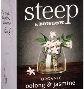 STEEP BY BIGELOW TEA BAGS OOLONG & JASMINE GREEN 20's